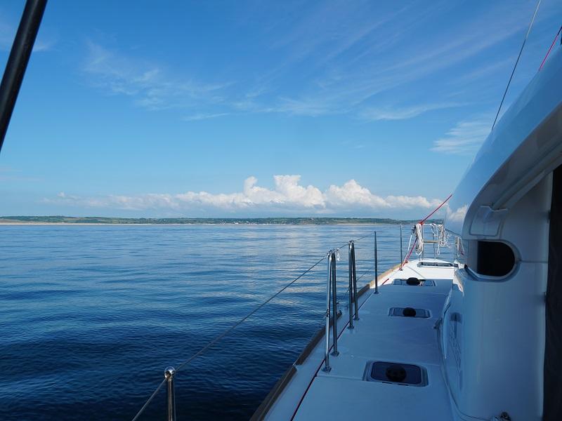 Zeilen op een catamaran…